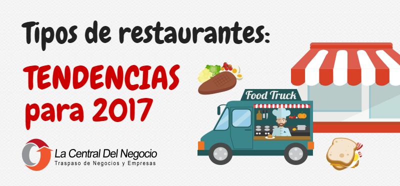 Tipos de restaurantes tendencias para 2017 la central for Tipos de restaurantes franceses