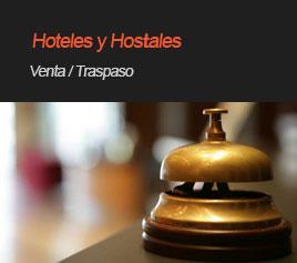 Traspado de hoteles y hostales